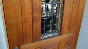 Restauration/Auffrischen einer Haustüre