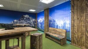 Einrichtung für ein Besprechungszimmer