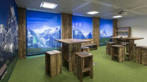 Massivholz im Alpenlook