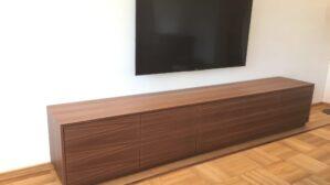 Tv-Möbel amerikanischer Nussbaum