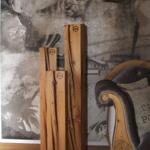 Massivholz Säulen aus Tannenholz