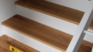 Treppentritte aus Massivholz