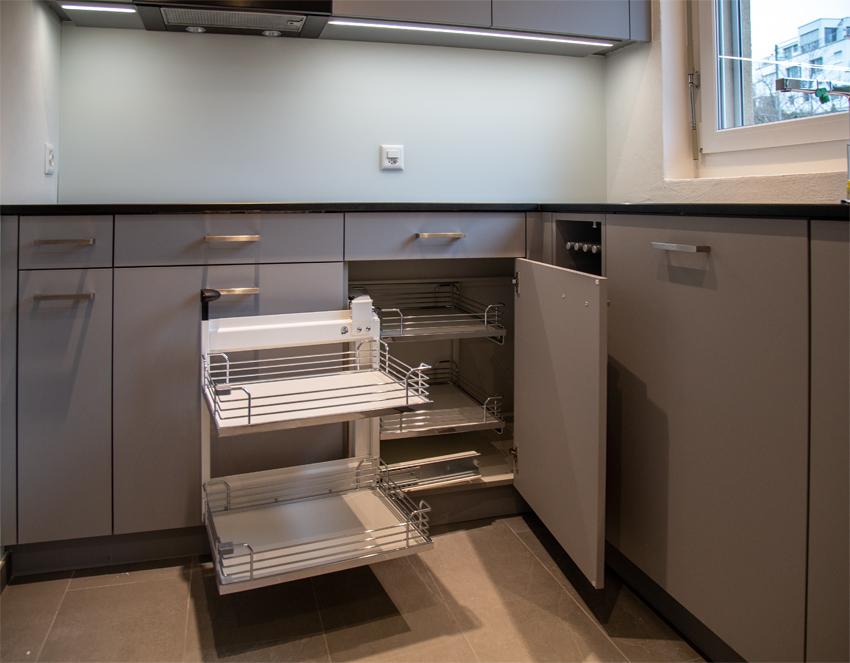 Küche mit Magic Corner