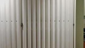 Einbauschrank mit Faltwand